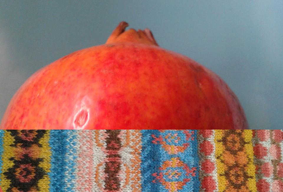 Pomegranate swatch by Labistrake
