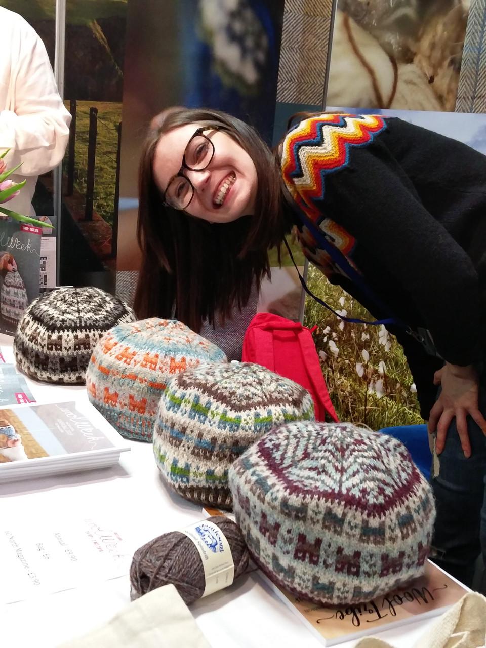 Ella with Crofthoose hats