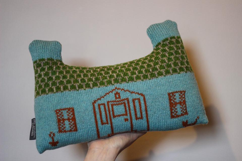 Crofthoose Cushion by Ella!