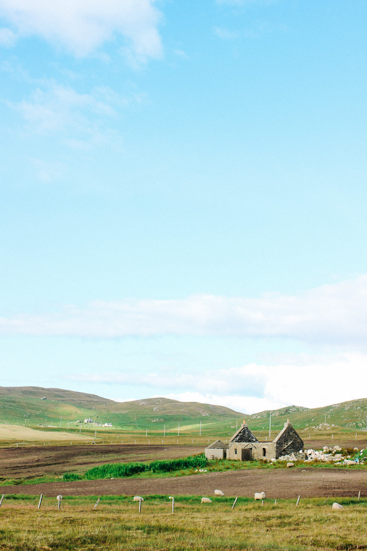Ruined crofthouse, Shetland